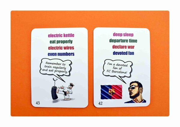 Collocations part two gry do nauki języka angielskiego (7)