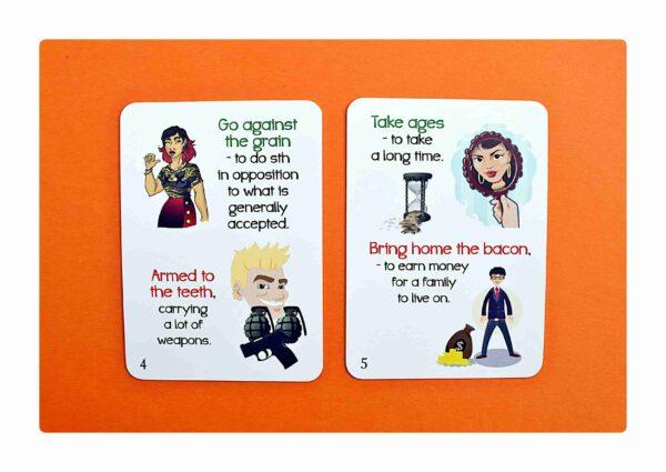 Idioms part two gry do nauki języka angielskiego (3)