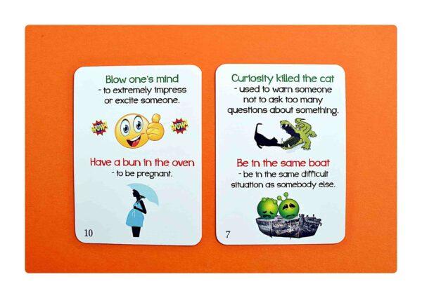 Idioms part two gry do nauki języka angielskiego (5)