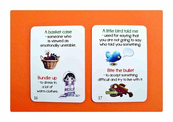 Idioms part two gry do nauki języka angielskiego (6)