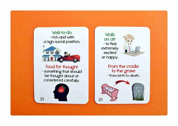 Idioms part two gry do nauki języka angielskiego (7)