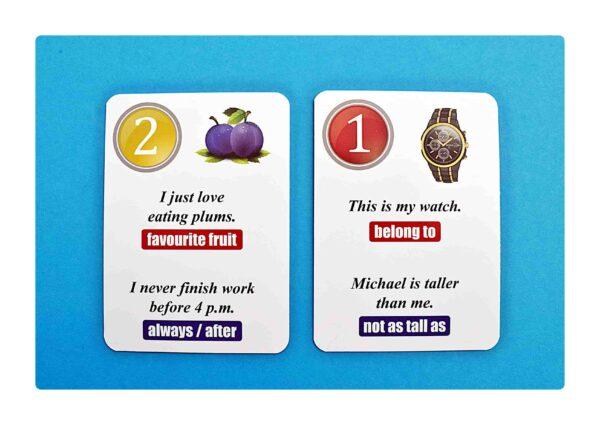 sentence transformations #1 gry do nauki języka angielskiego (2)