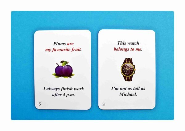 sentence transformations #1 gry do nauki języka angielskiego (3)