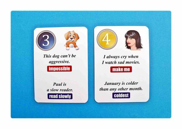 sentence transformations #1 gry do nauki języka angielskiego (6)