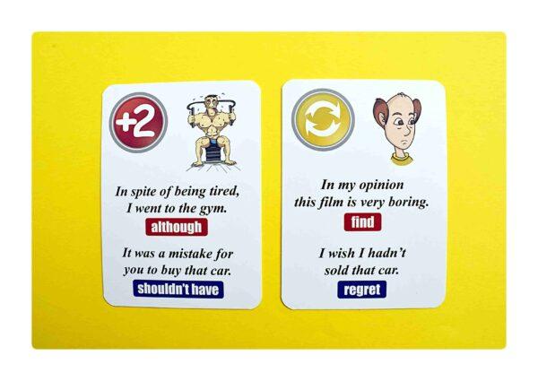 sentence transformations #2 gry do nauki języka angielskiego (10)