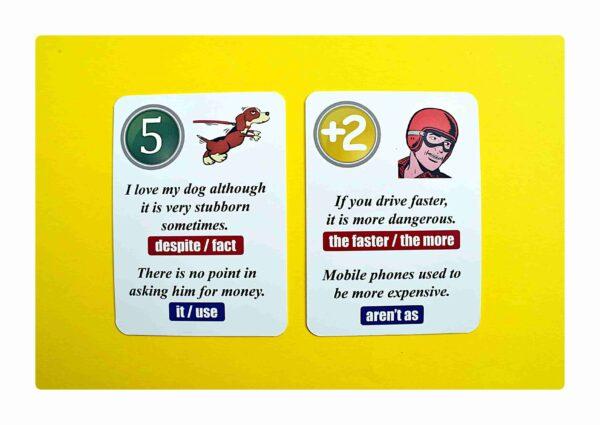 sentence transformations #2 gry do nauki języka angielskiego (2)