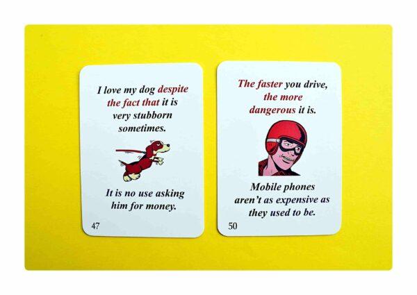 sentence transformations #2 gry do nauki języka angielskiego (3)