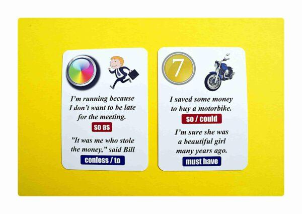 sentence transformations #2 gry do nauki języka angielskiego (8)