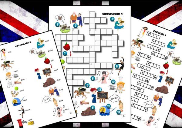krzyżówki do nauki języka angielskiego (2)
