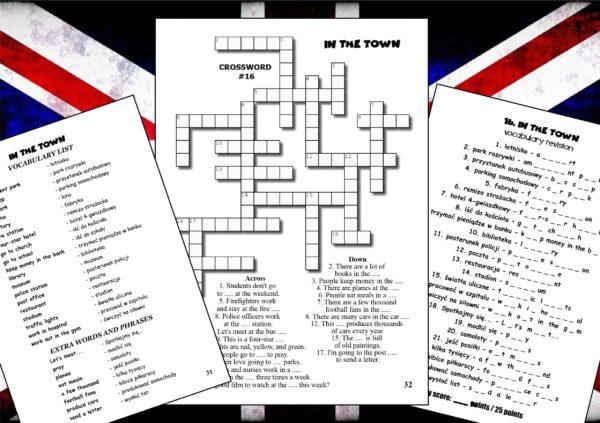 krzyżówki do nauki języka angielskiego (3)